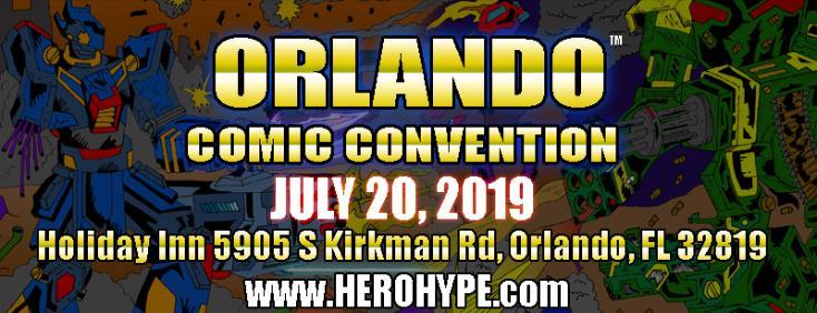 Orlando Comic Con 2019